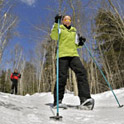 King Pine Snowshoeing