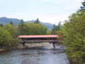 North Conway NH saco river covered bridge