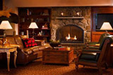 North Conway Grand Hotel Fireplace