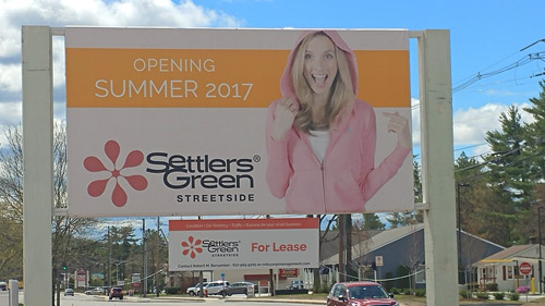 Settlers' Green Outlet Village 2017 Store Map and List on strip map, store map, inlet map, sports map,