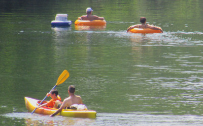 The Saco River is Fun for the Whole Family in North Conway
