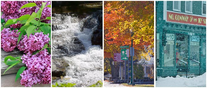 Official North Conway NH area guide to this four-season vacation wonderland