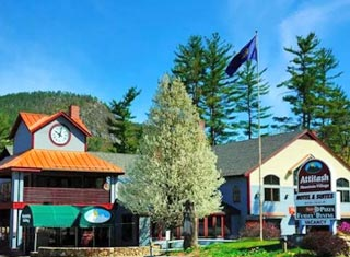 Attitash Mountain Village Resort lodging in Bartlett NH