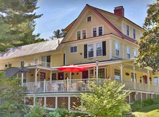 Eastman Inn lodging in North Conway NH