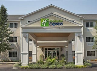 Holiday Inn Express lodging in North Conway NH