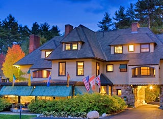 Stonehurst Manor lodging in North Conway NH