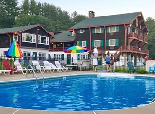 Swiss Chalets lodging in North Conway NH