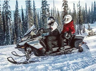 Snowmobile sales and rentals at Profile Powersports in Conway NH