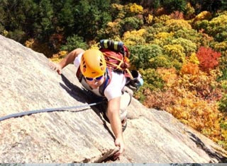 North Conway NH area climbing - International Mountain Climbing School