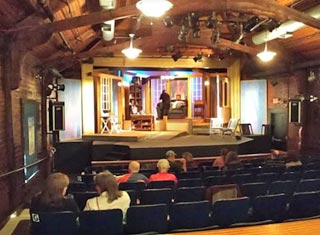 M&D Playhouse stage - a North Conway NH rainy day activity