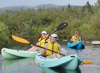 North Conway NH area canoeing and kayaking with Outdoor ESCAPES New Hampshire LLC