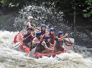 North Conway NH area rafting with Raft NH in Gorham NH