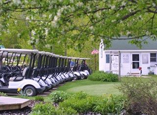 9-hole golf course at Eagle Mountain House in Jackson NH