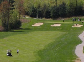 9-hole golf course in North Conway NH area at Hale's Location