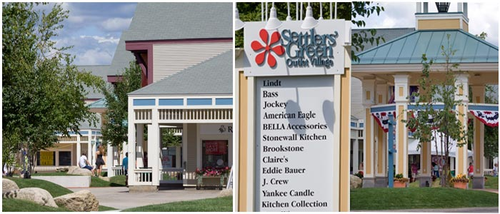 North Conway NH Outlet Shopping