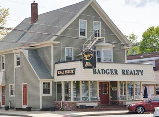 Badger Realty's North Conway Village office